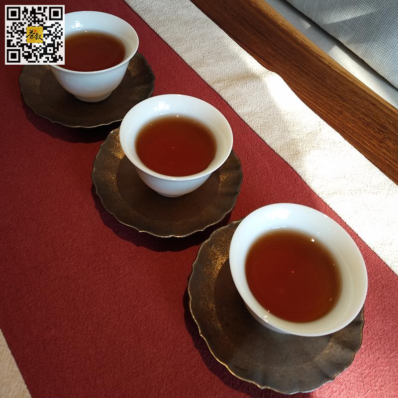 茶汤:金山熟普洱茶2018年版