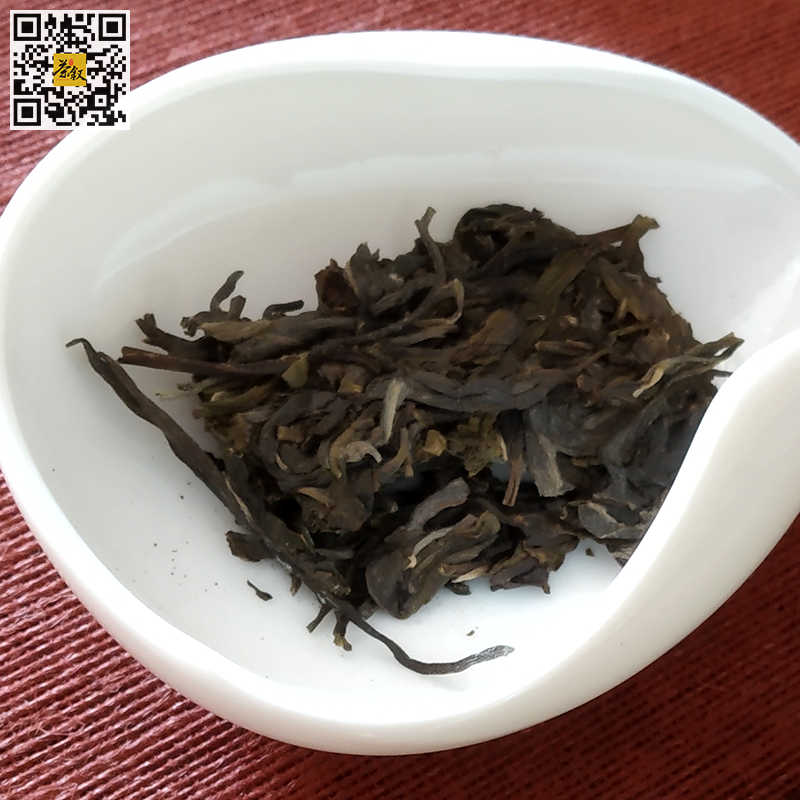 如意生普洱茶2017年版茶干