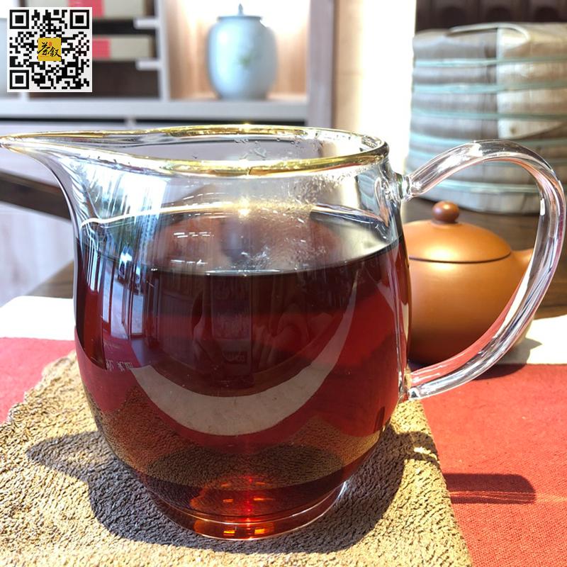 宝登源银山熟普洱茶2017年版