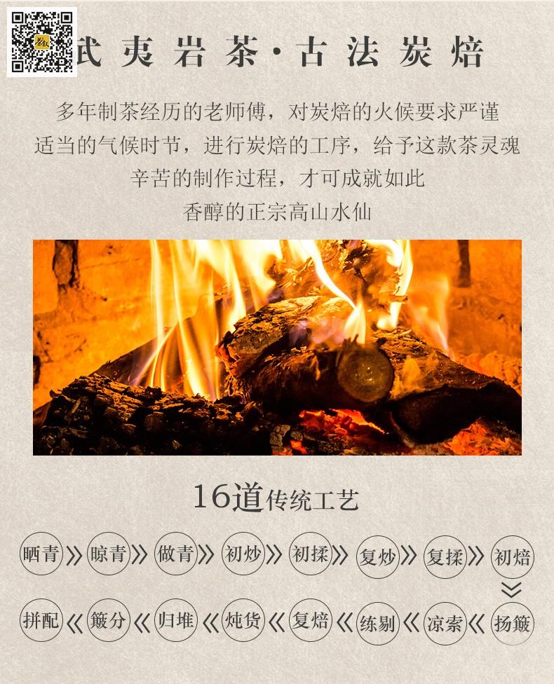 高山水仙武夷岩茶制作工艺流程图