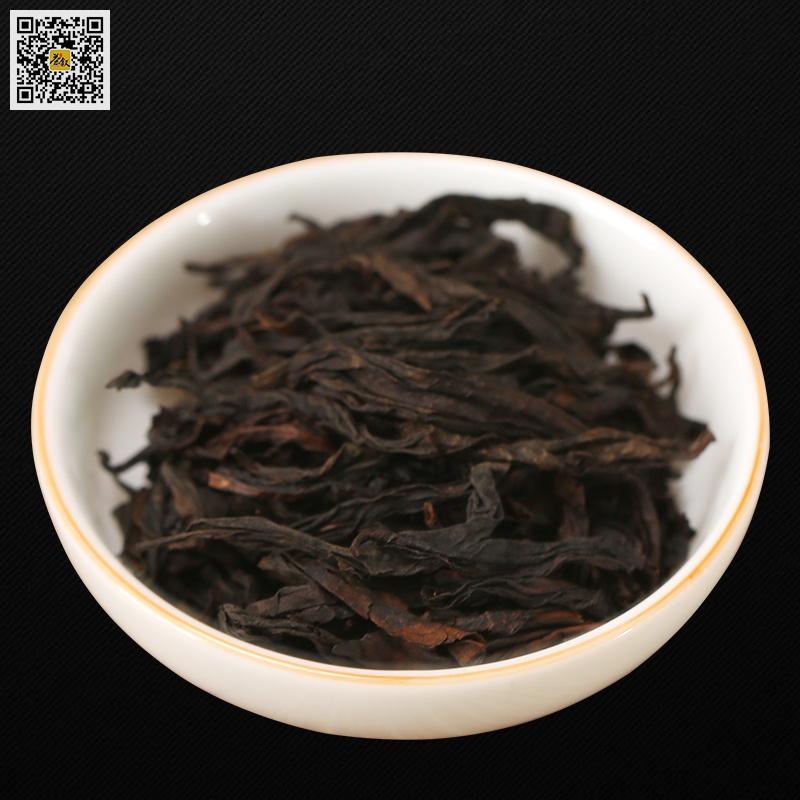 浓香大红袍茶干条索