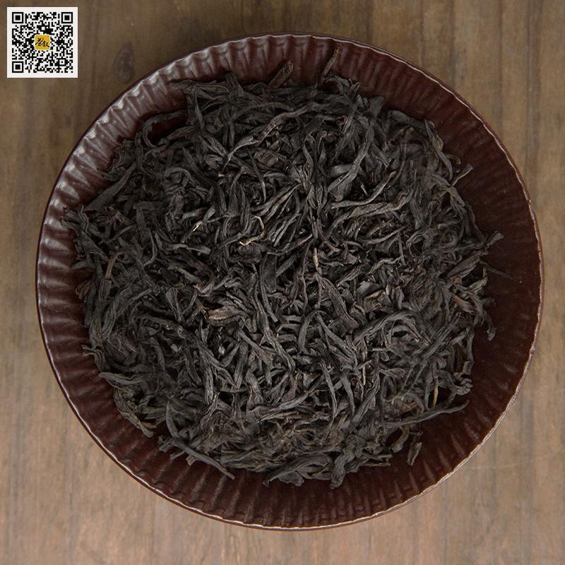 桐木关野茶,清枫古木武夷红茶茶干条索