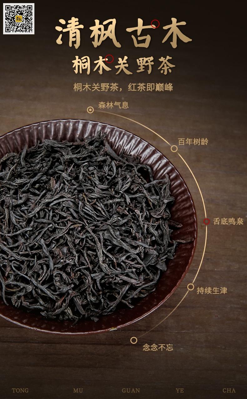 桐木关野茶清枫古木滋味介绍图