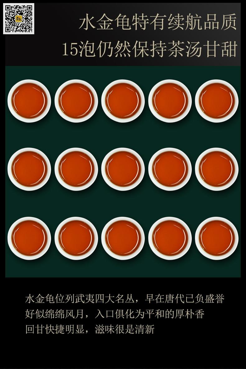 武夷名丛水金龟15泡茶汤图