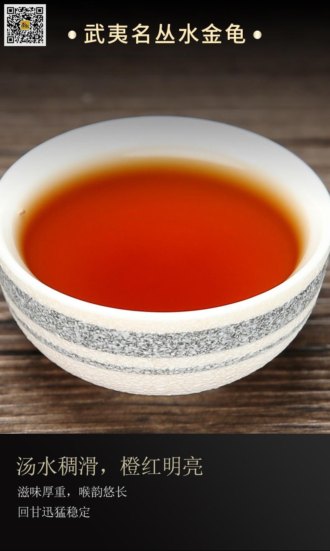 武夷名丛水金龟茶汤滋味介绍图