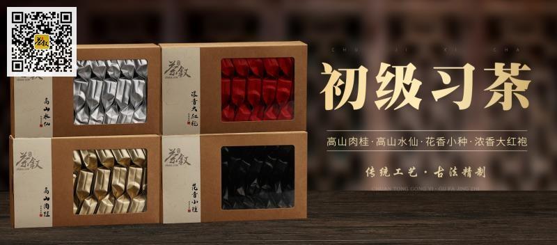 初级习茶广告banner