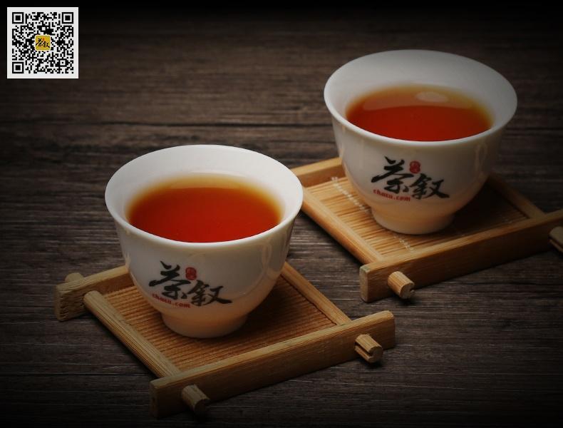 浓香大红袍茶汤