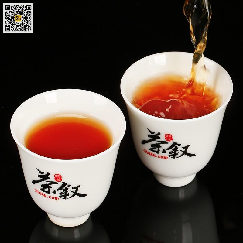 商务礼品茶正岩肉桂茶汤颜色