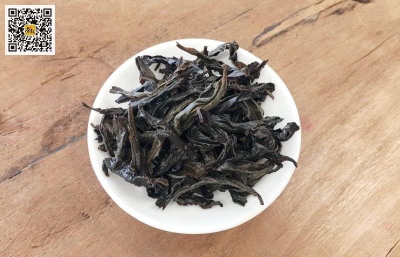 中火岩茶叶底