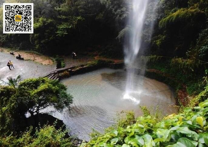 武夷岩茶山场之水帘洞