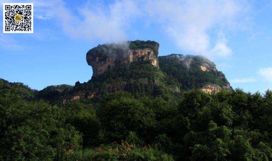 武夷岩茶山场之大王峰