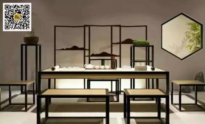 独立茶室的雅致空间