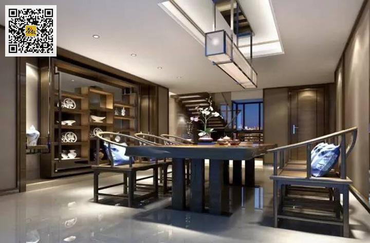 客厅兼茶室