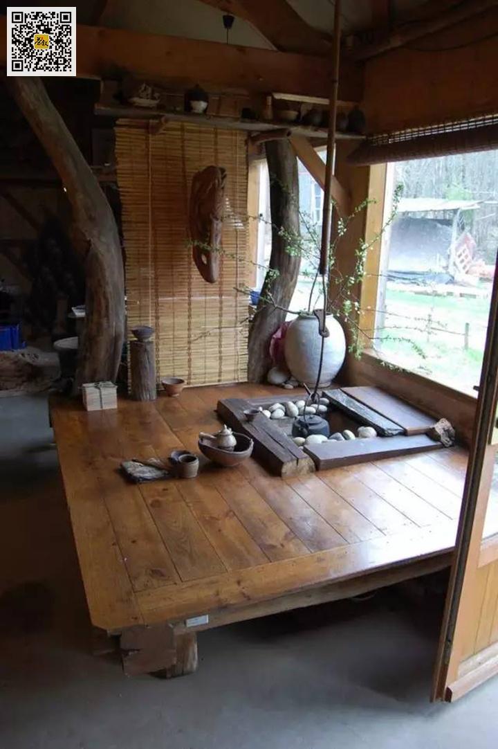 临窗茶室品茶赏景尽享清闲