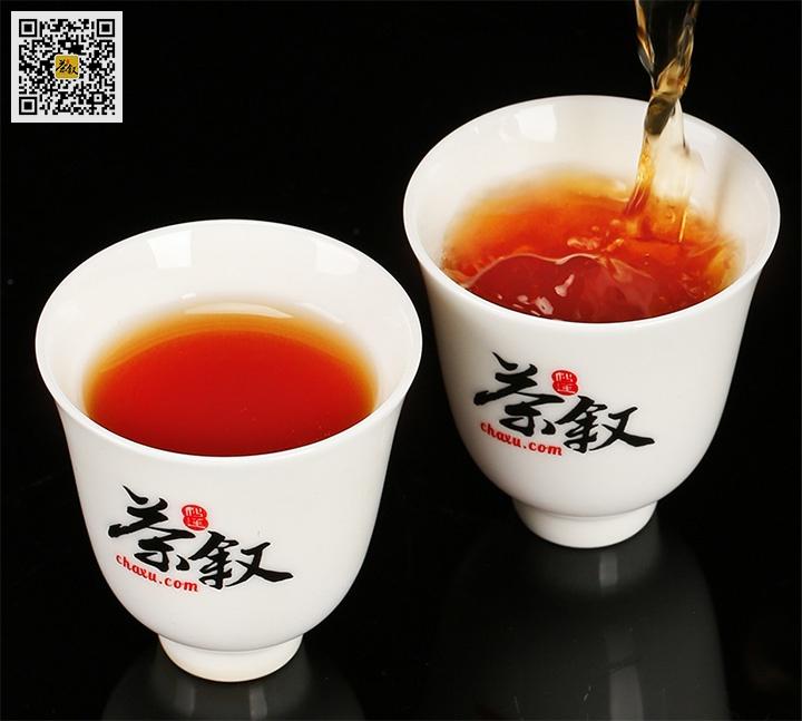 正岩肉桂茶汤金橙透亮