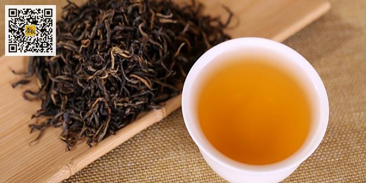 红茶金骏眉干茶与茶汤