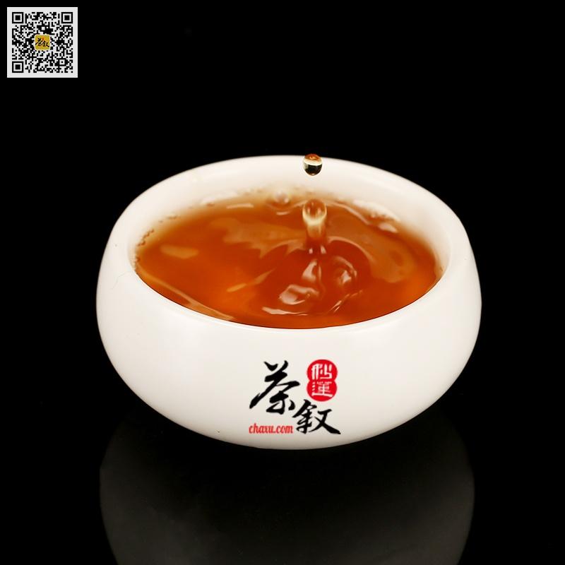 水仙岩茶工作茶汤色橙黄透亮
