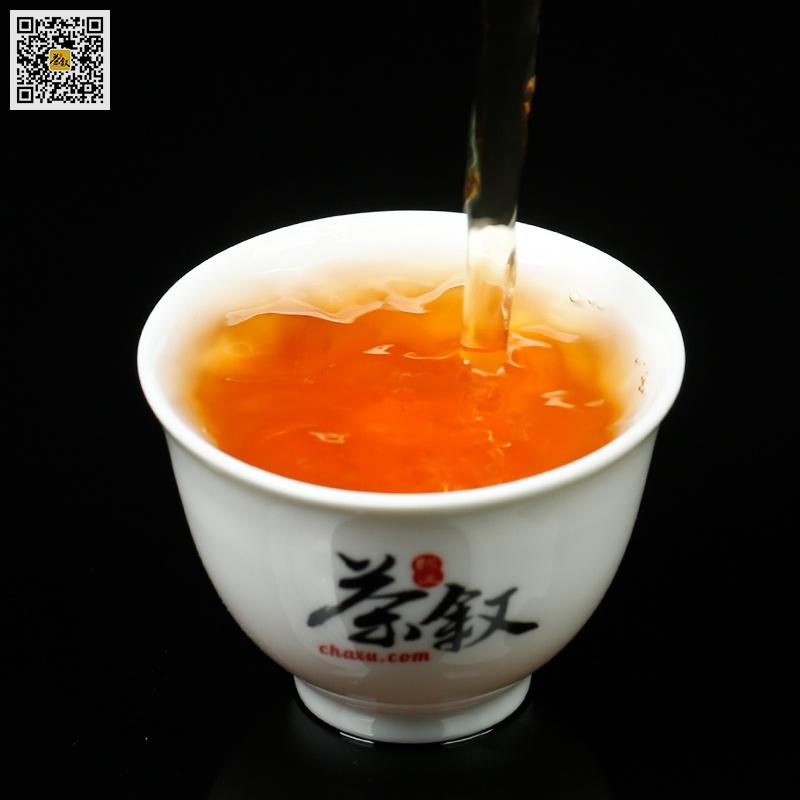 散装经典大红袍岩茶汤色