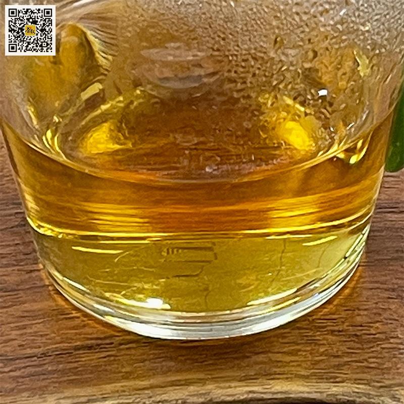 烟熏小种茶汤特征金橙透亮