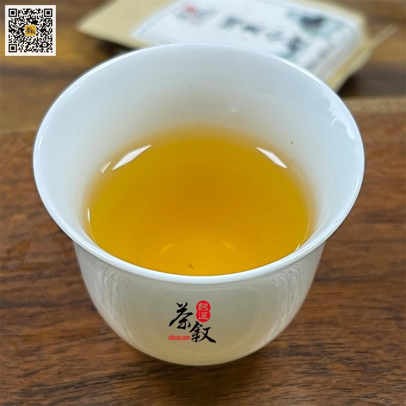 烟熏小种茶汤特征