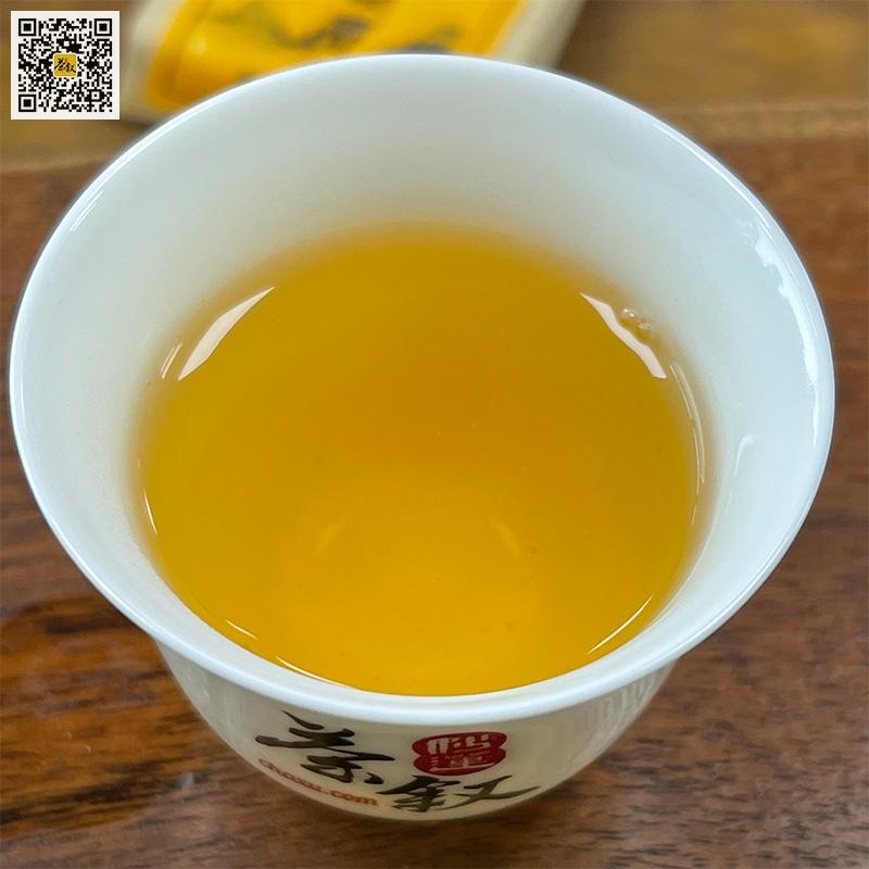 武夷山金骏眉红茶汤色特征
